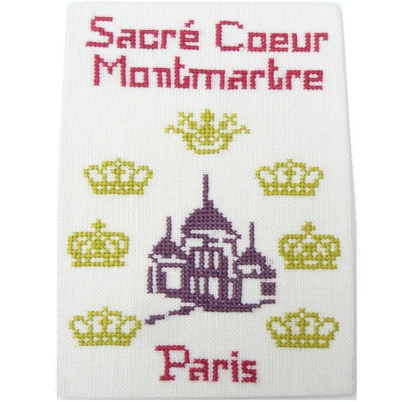 Sacré Cœur Paris Carte postale aux couronnes