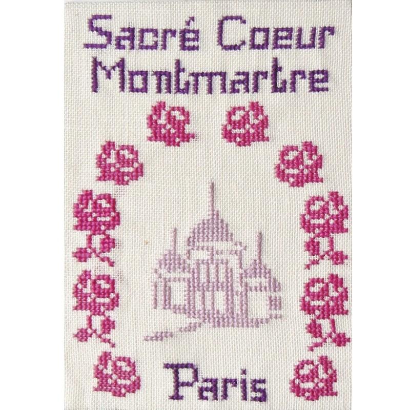 CP-PARIS-SACRE-COEUR-ROSES