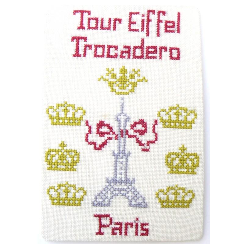 CP-PARIS-TOUR-EIFFEL-COURONNES