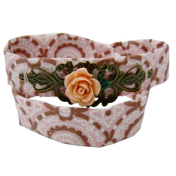 bracelet-liberty-rose-marron