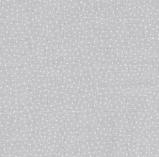 tissu-gris-a-pois-blancs
