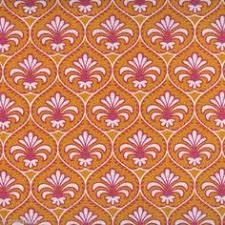 tissu-gutermann-fleur-de-lys-orange