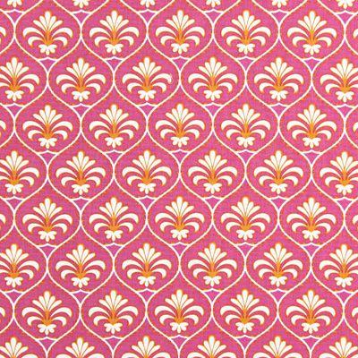 tissu-gutermann-fleur-de-lys-rose