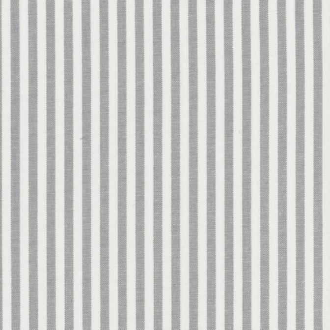 tissu rayures moyennes en coton gris et blanc autour d 39 elsa. Black Bedroom Furniture Sets. Home Design Ideas