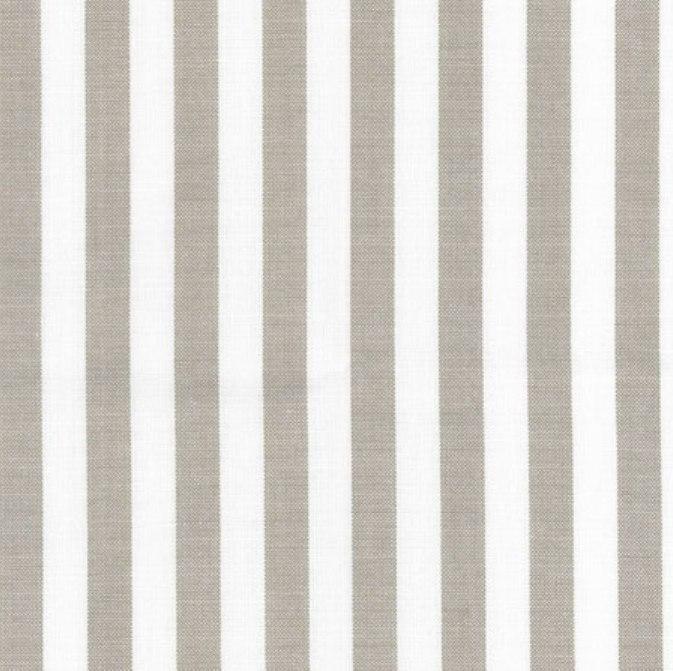 tissu rayures en coton taupe et cru autour d 39 elsa. Black Bedroom Furniture Sets. Home Design Ideas