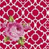 tissu-rouge-roses-roses