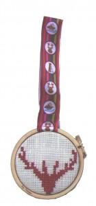tuto mini  tambour cerf rouge