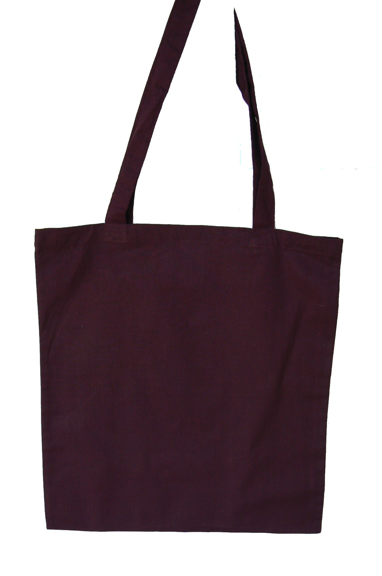 Sac shopping Tote bag Prune Bordeaux à customiser