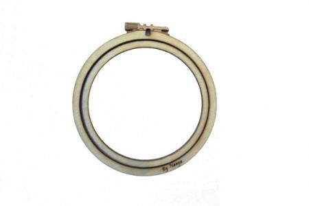 Mini cercle à broder 48 mm tambour de décoration