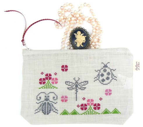 TROUSSE LIBELLULE SCARABEE – small
