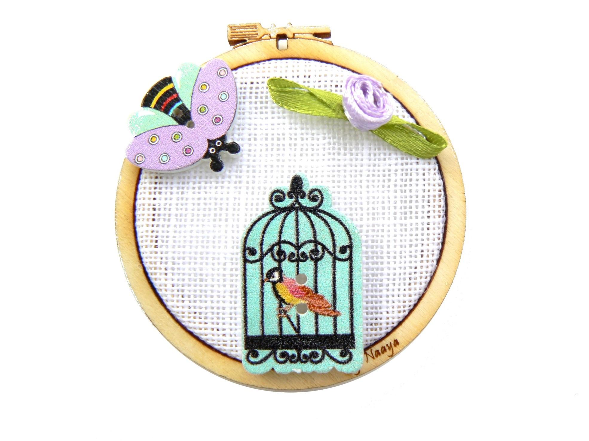 mini-tambour-cage-oiseau-abeille
