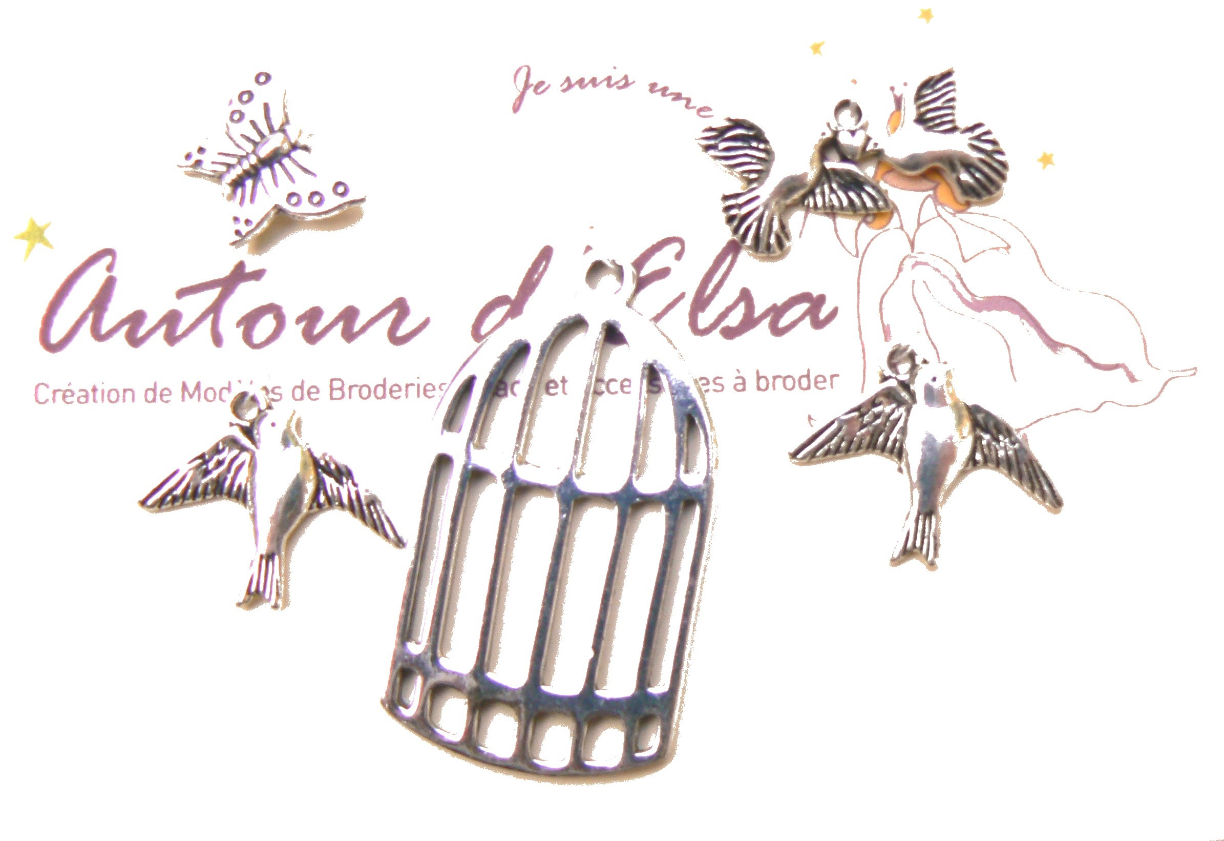 charms cage oiseaux